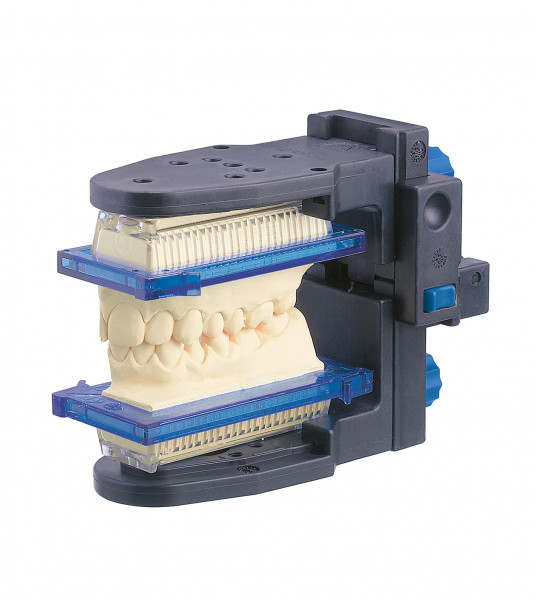 Intercuspidator für mundgeschlossene Teilabdrücke
